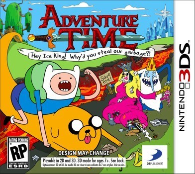 adventure time,nintendo 3ds,nintendo ds,video games
