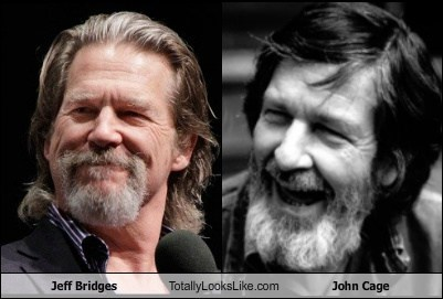 Jeff Bridges Totally Looks Like John Cage