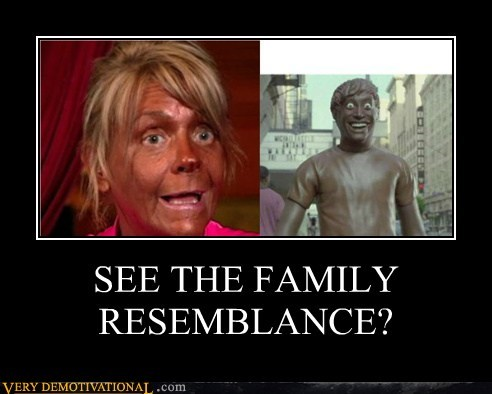 SEE THE FAMILY RESEMBLANCE?