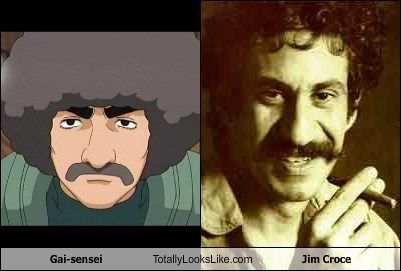 Gai-sensei Totally Looks Like Jim Croce