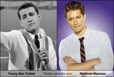 Young Alex Trebek Totally Looks Like Matthew Morrison