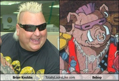 Brian Knobbs Totally Looks Like Bebop