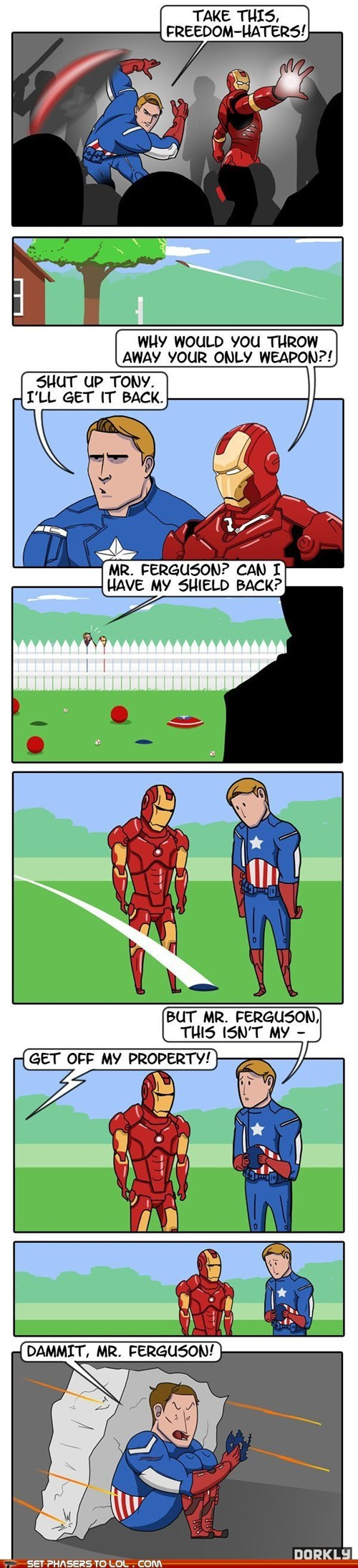 Captain America's Greatest Enemy