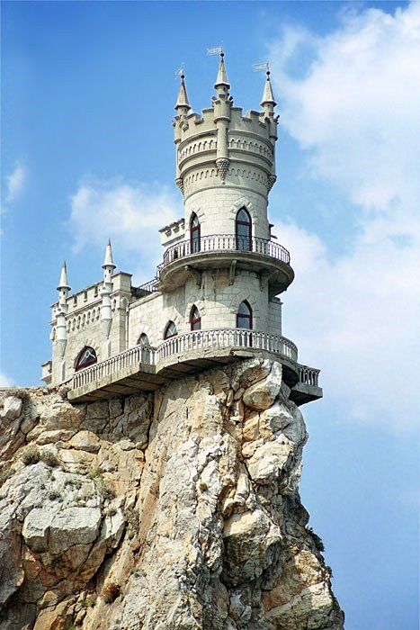 Swallows Nest Castle, Crimea, Ukraine