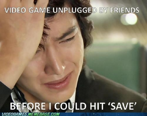 friends,horseplay,Sad,save,the feels,unplugged