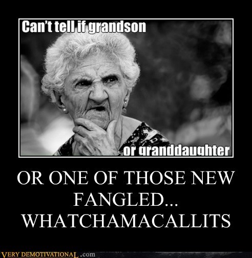 OR ONE OF THOSE NEW FANGLED... WHATCHAMACALLITS