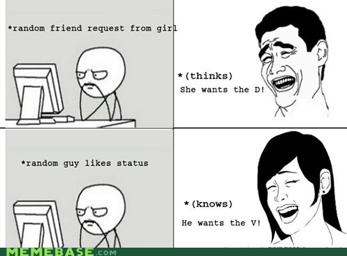 Girl Boy: Facebook Meanings