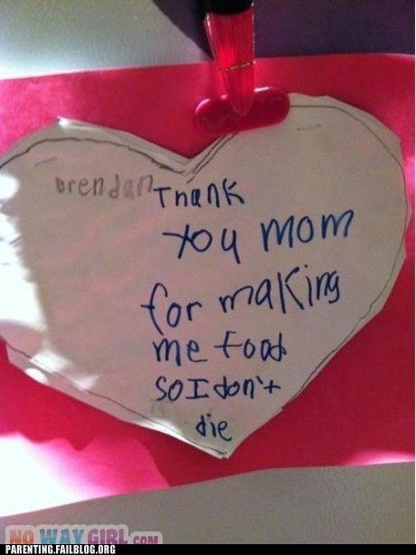 card,food,heart,mothers day