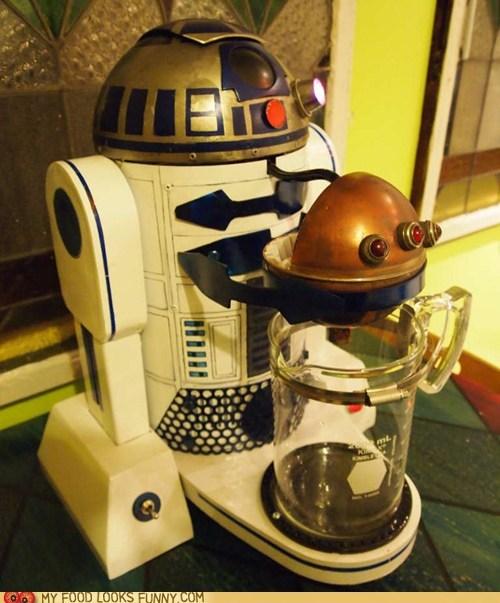 caffeine,coffee pot,modified,r2d2