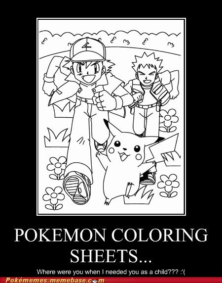 Pokémon Coloring Sheets...