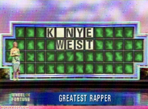 celeb,funny,kanye west,Music,rap,TV,wheel of fortune