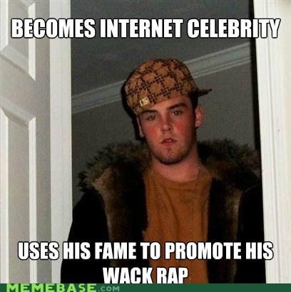 Blake Boston,celeb,rap,Scumbag Steve,wack