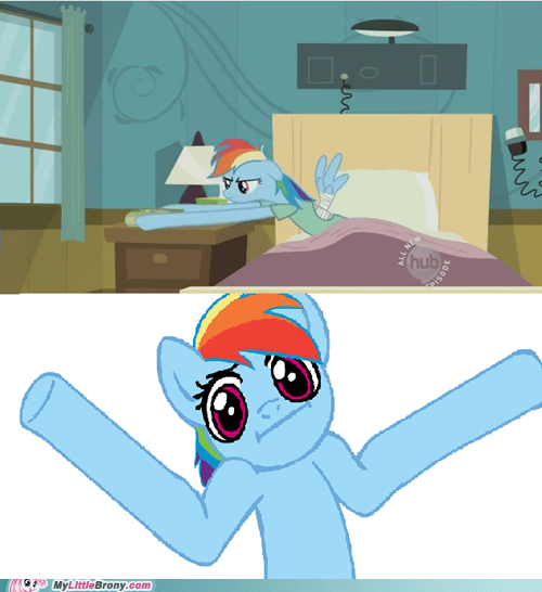 Rainbow Dash is the New Mr. Fantastic