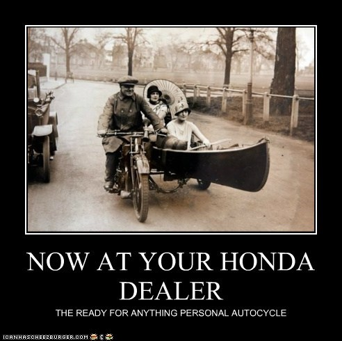NOW AT YOUR HONDA DEALER