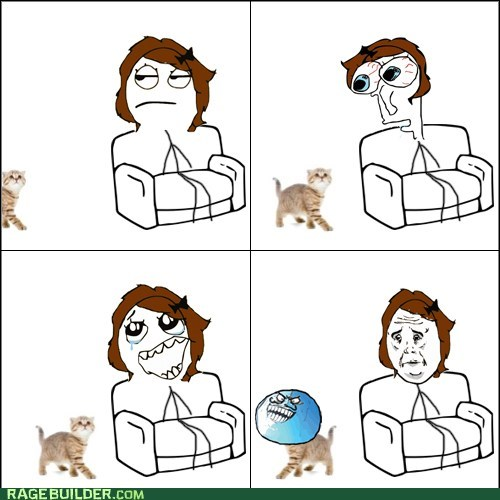 Rage Comics: Get Over Here and Love Me, Furball