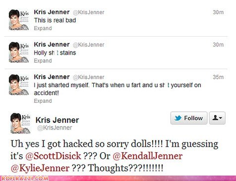 Kris Jenner Has Some BM Problems