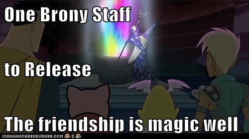One Brony Staff to Release The friendship is magic well