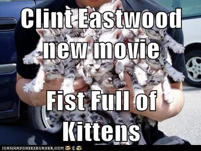 Clint Eastwood new movie  Fist Full of Kittens