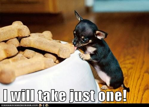 I will take just one!
