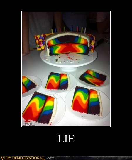 amazing,cake,colors,lie,Pure Awesome