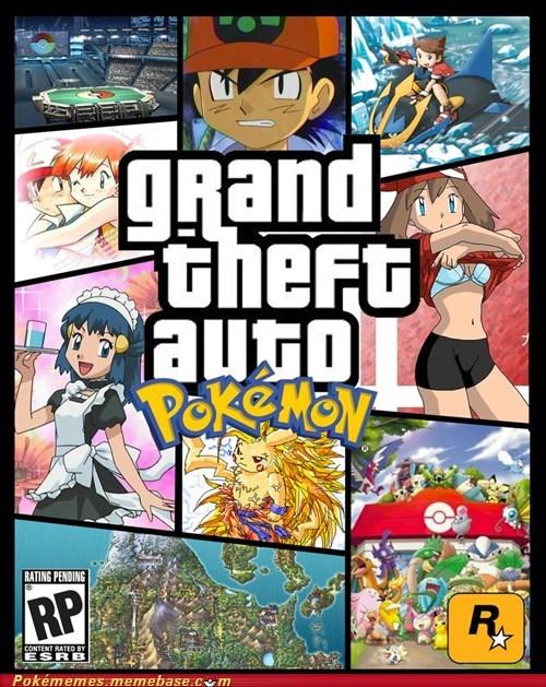 box art,crossover,Grand Theft Auto,video game