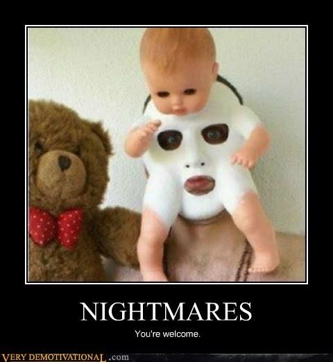 baby,horrible,mask,nightmares,Terrifying