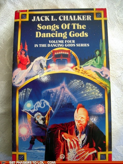 WTF Sci-Fi Book Covers: Songs of the Dancing Gods