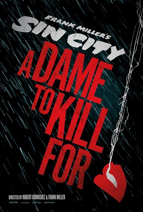 Sin City Sequel Poster of the Day