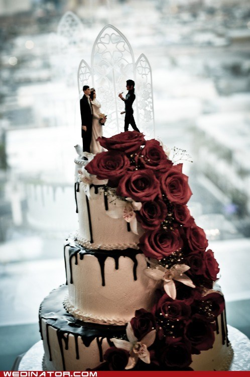 cake,Elvis,funny wedding photos,wedding toppers