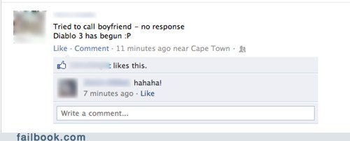 Failbook: Error 37: Boyfriend Not Found