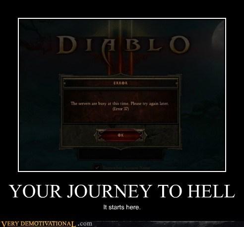 diablo 3,hell,journey,servers full,Terrifying