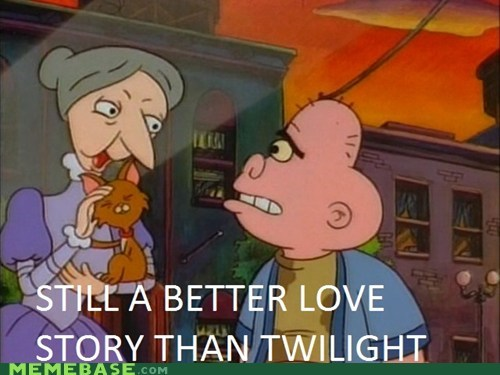 better love story,harold,hey arnold,kitty,Memes