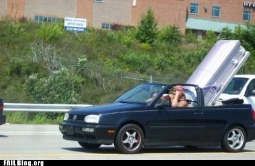 coffin,convertible,highway