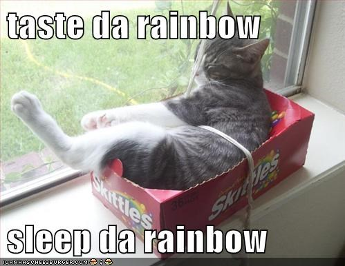 taste da rainbow  sleep da rainbow