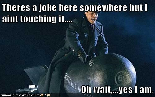 bomb,Captain Jack Harkness,doctor who,john barrowman,joke,oh wait,touching