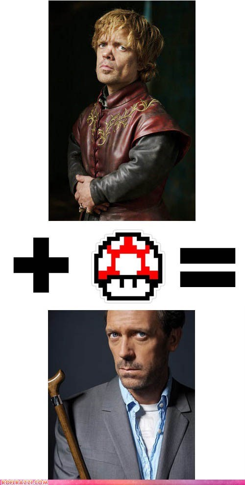 The Dinklage/Laurie Equation: Mind = BLOWN