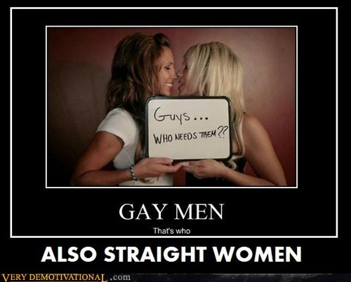 ALSO STRAIGHT WOMEN