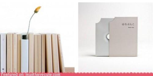 books,Flower,narrow,porcelain,vase