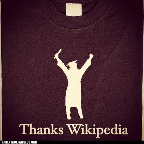 graduation,tee shirt,wikipedia