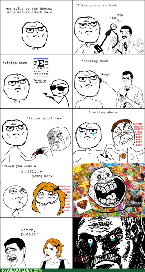 Rage Comics: Turn and Stick