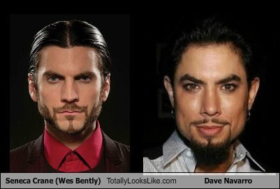 Seneca Crane (Wes Bently) Totally Looks Like Dave Navarro