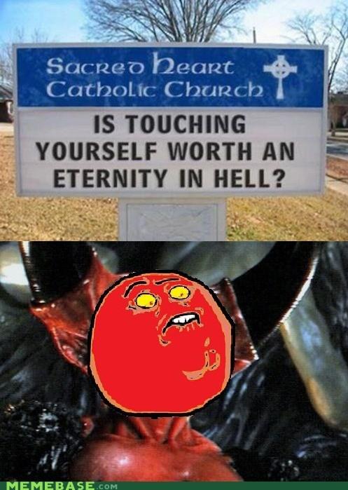 devil,fap,hell,Rage Comics