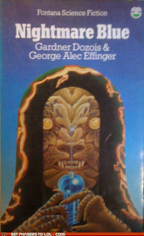 WTF Sci-Fi Book Covers: Nightmare Blue