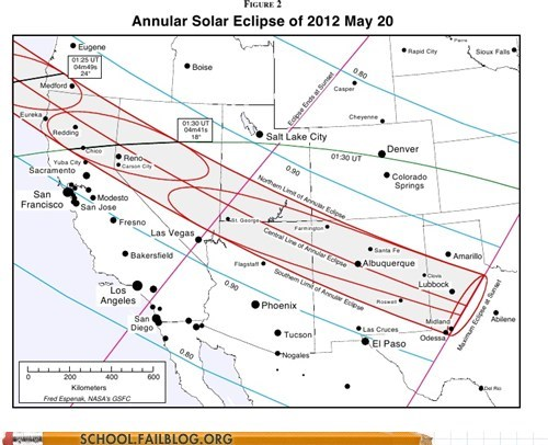School of Fail: Where to Go to View Sunday's Solar Eclipse