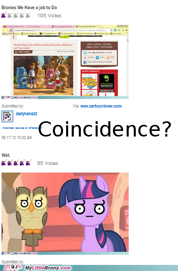 coincidence?