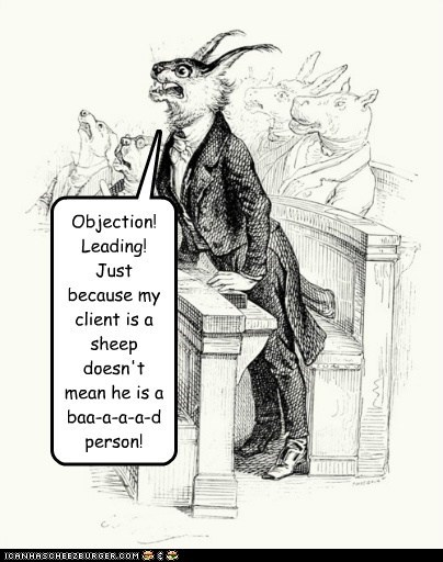 animal,cat,court,defense,drawing,lawyer,sheep