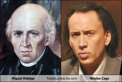 Miguel Hidalgo Totally Looks Like Nicolas Cage