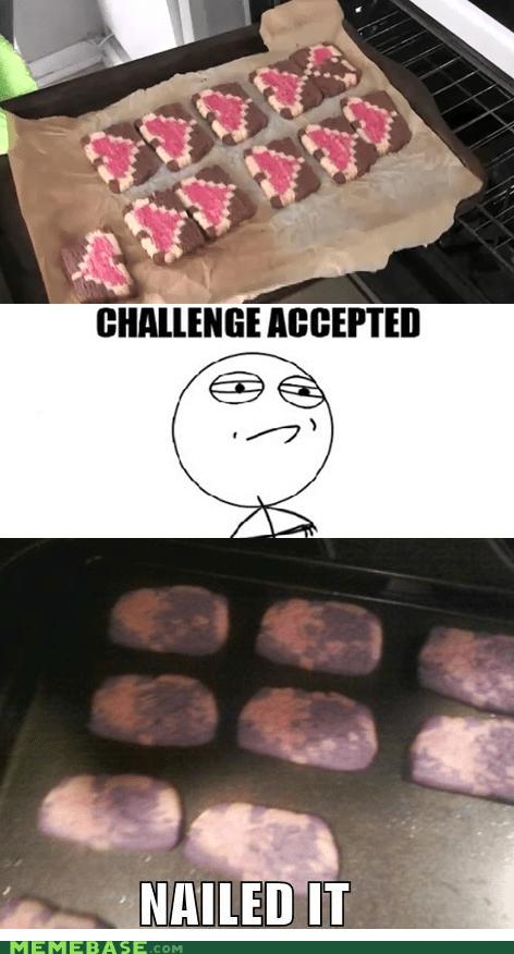 cookies,heart,Nailed It,zelda