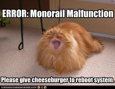 Monorail Malfunction