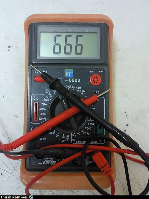 My Multimeter's Possessed!
